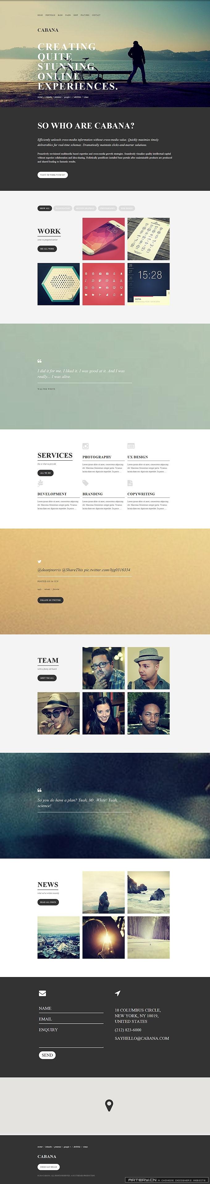 Cabana   A Responsive HTML5 Creative Theme_20140701090601.jpg