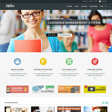 WPLMS - Themeforest Learning Management System