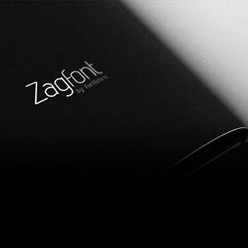 画册设计中常用的英文设计字体Zag Bold 和 Zag Regular