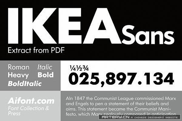 IKEA Sans 宜家商用字体