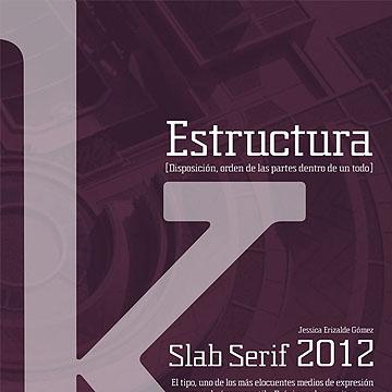 排版设计杂志常用英文字体下载 - Estructura