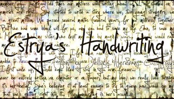 设计师常用的签名效果英文字体Jellyka Estrya Handwriting