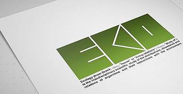 设计师常用的方形板砖画册杂志设计英文字体 QUB