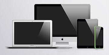 苹果系列贴图素材源文件PSD下载