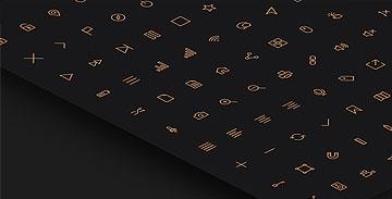 80个线性图标(PSD + AI + Webfont)