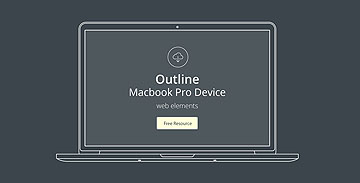 苹果系列线框原型矢量及PSD源文件下载