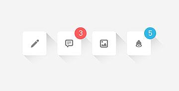 7套简洁的UI PSD源文件下载