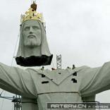 疯狂吉尼斯:世界最大耶稣像