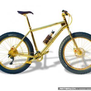 太夸张了:100万刀的山地自行车亮瞎狗眼